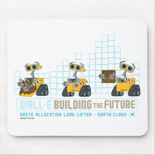 WALL-E Building Future Mouse Pads