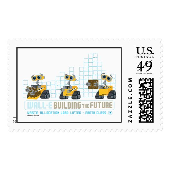 WALL-E Building Future Postage