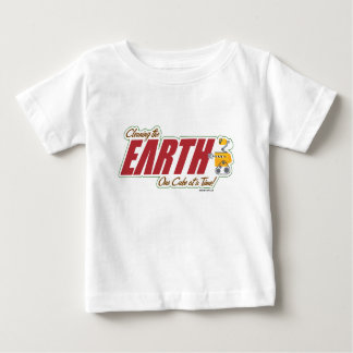 """WALL-E """"cleaning the EARTH one cube at a time"""" Shirt"""