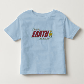 """WALL-E """"cleaning the EARTH one cube at a time"""" Tee Shirt"""