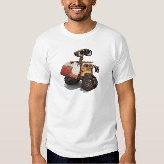 WALL-E con el iglú del refrigerador de la caja del Playera