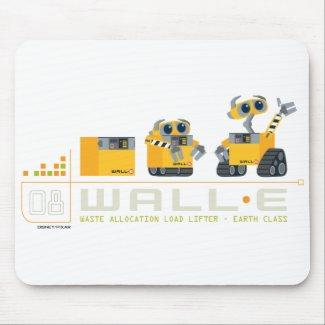 Wall-E grows mousepad