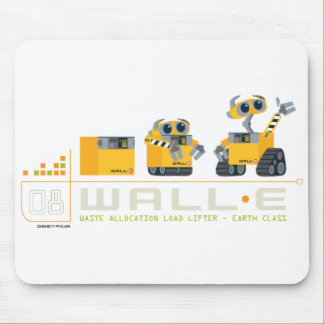WALL-E grows Mouse Pad