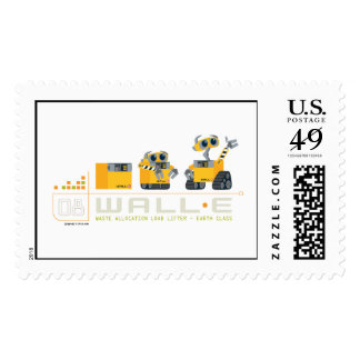 WALL-E grows Postage Stamps