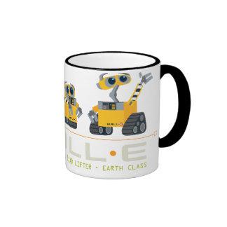 WALL-E grows Ringer Coffee Mug