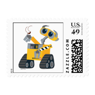 WALL-E Picking Up A Treasure Stamps