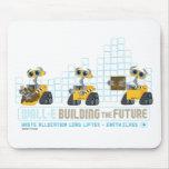 WALL-E que construye futuro Alfombrillas De Raton