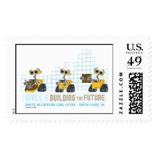 WALL-E que construye futuro Timbres Postales
