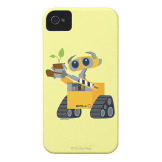 WALL-E robot sad holding plant iPhone 4 Cover