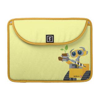 WALL-E robot sad holding plant Sleeve For MacBooks