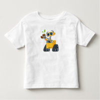 WALL-E robot sad holding plant Toddler T-shirt