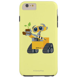 WALL-E robot sad holding plant Tough iPhone 6 Plus Case