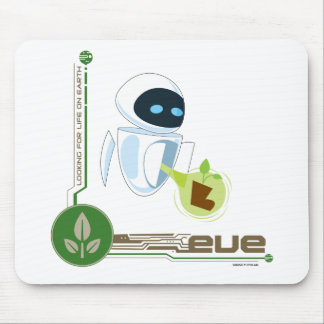 Wall*E with Eve the plant Disney Mouse Pad
