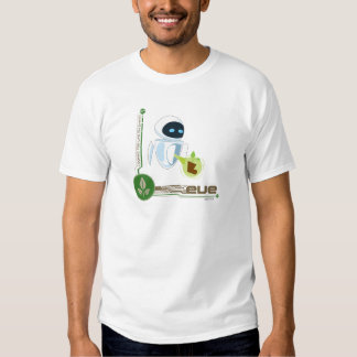 Wall*E with Eve the plant Disney T-shirts
