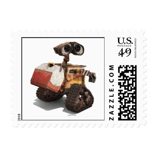 WALL-E with lunchbox cooler igloo Stamp