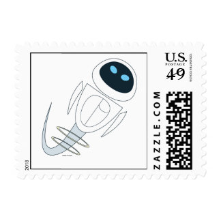 WALL*E's Eve flying Disney Postage Stamp