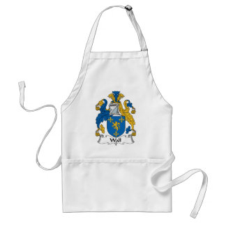 Wall Family Crest Aprons