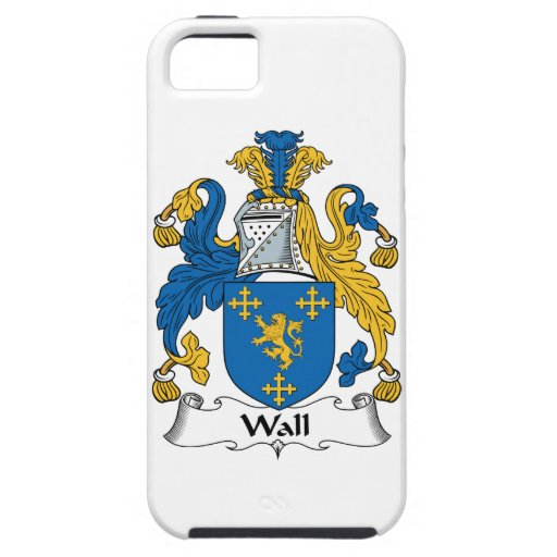 Wall Family Crest iPhone 5 Cover