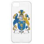 Wall Family Crest iPhone 5C Case