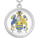 Wall Family Crest Necklace