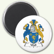 Wall Family Crest Magnet