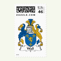 Wall Family Crest Stamps