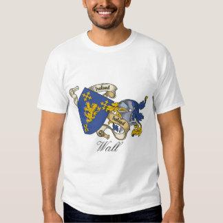 Wall Family Crest T Shirt