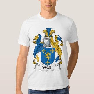 Wall Family Crest Tee Shirt