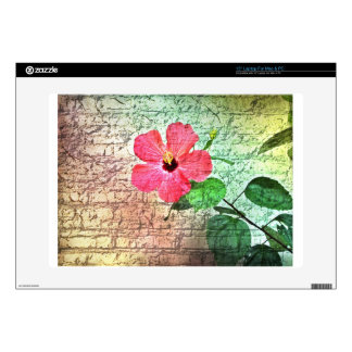 wall flower decals for laptops