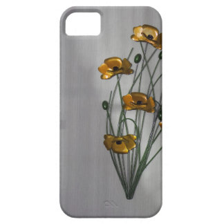 Wall Flower in Gold iPhone SE/5/5s Case