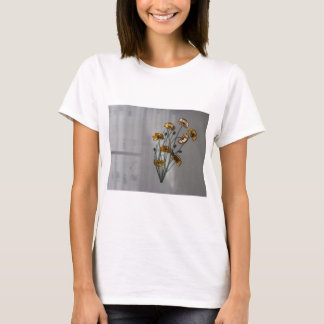 Wall Flower in Gold T-Shirt