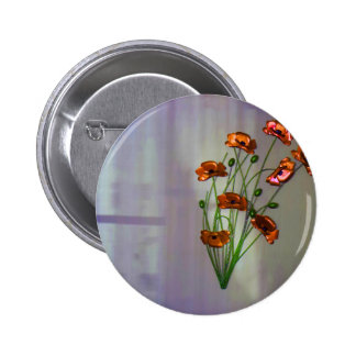 Wall flower with textured colour background button