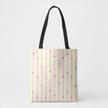kellygalloway Wall Flowers All-Over-Print Tote