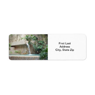 Wall Fountain Label
