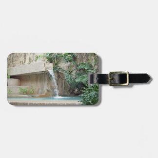 Wall Fountain Luggage Tag