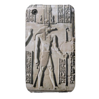 Wall Frieze Ancient Egyptian Hieroglyphic Art iPhone 3 Case