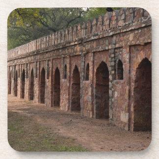 Wall inside historic Humayun s tomb Beverage Coaster
