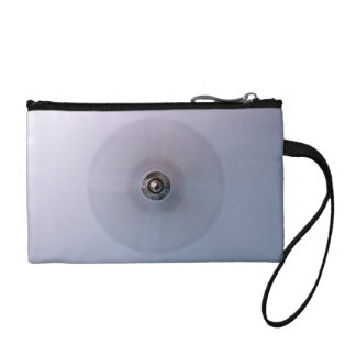 Wall mounted fan change purse
