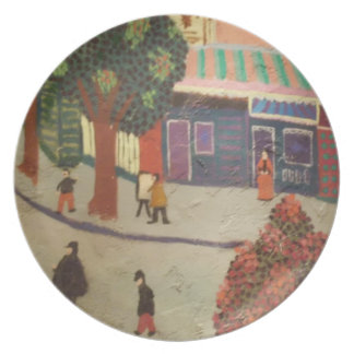 Wall Mural Plate