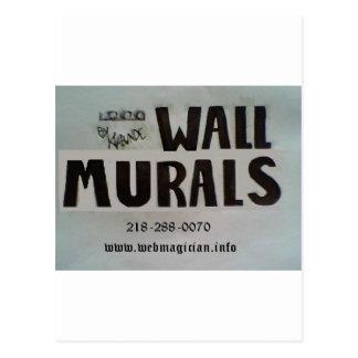 Wall Murals by Klabunde Postcard