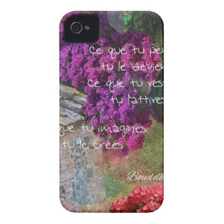 Wall,Nature and message iPhone 4 Case