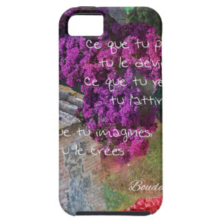 Wall,Nature and message iPhone SE/5/5s Case