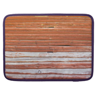 Wall of an log cabin sleeve for MacBook pro