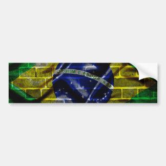 wall of Brazil Bumper Sticker