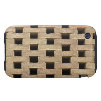 Wall of Bricks Tough iPhone 3 Cover