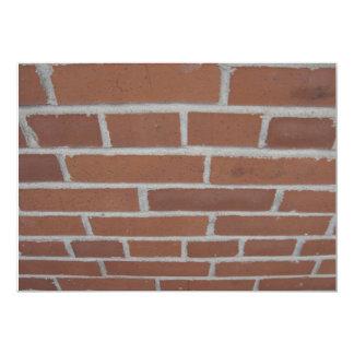 Wall of Bricks Invitation