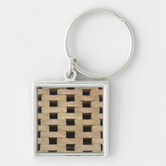 Wall of Bricks Keychain