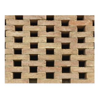 Wall of Bricks Postcard
