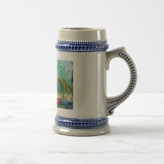 "Wall of Colors ""St. Maarten"" Beer Stein"