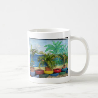 "Wall of Colors ""St. Maarten"" Coffee Mug"